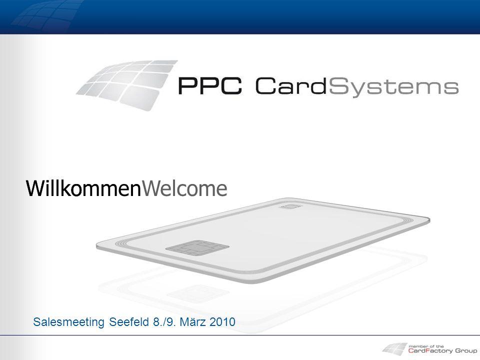 WillkommenWelcome Salesmeeting Seefeld 8./9. März 2010