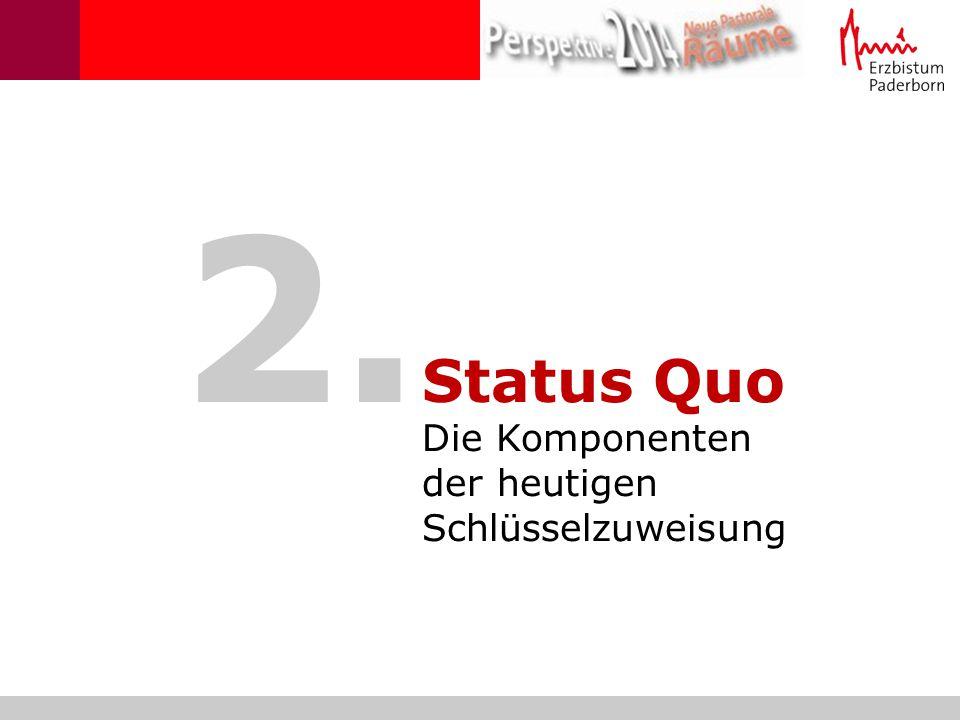 2. Status Quo Die Komponenten der heutigen Schlüsselzuweisung