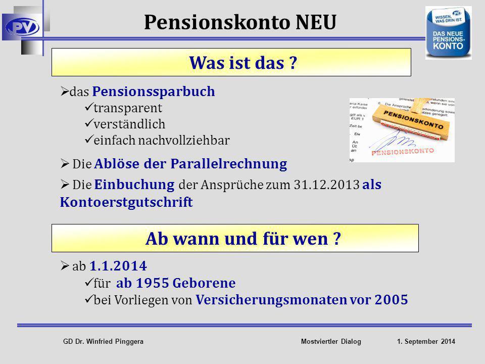 GD Dr.Winfried Pinggera Mostviertler Dialog 1.