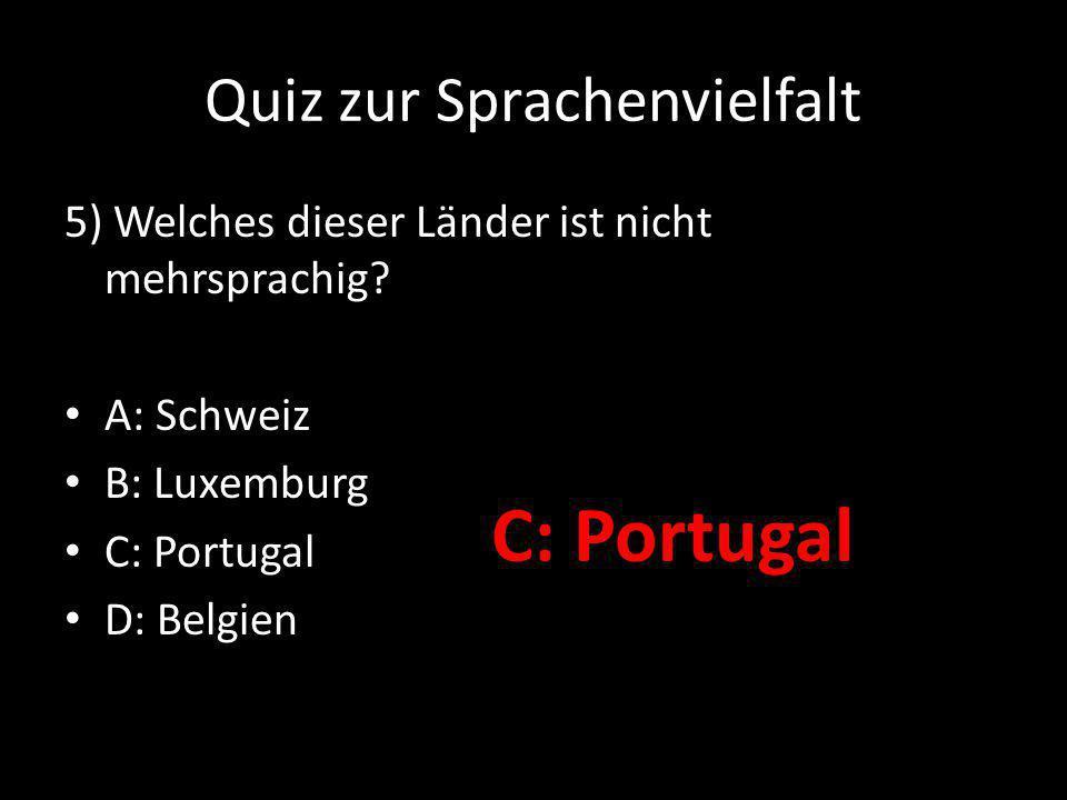 Quiz zur Sprachenvielfalt 6) Wie viele Sprachen der Welt haben eine schriftliche Tradition.