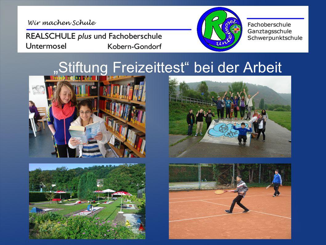 """""""Stiftung Freizeittest"""" bei der Arbeit"""