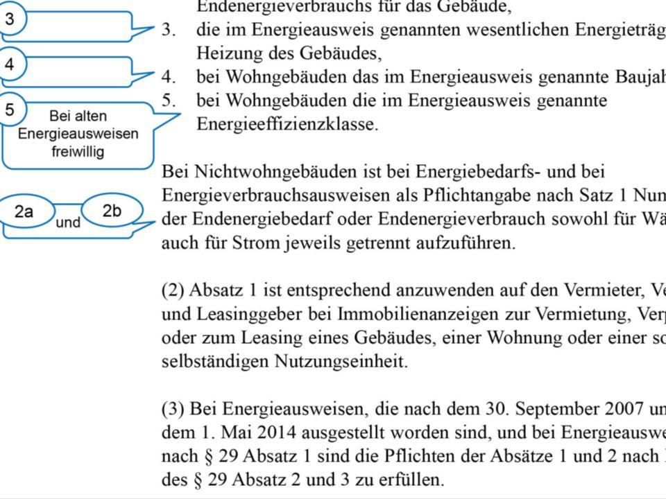 24.06.2014 RDM Essen Neue Pflichtangaben für Immobilienanzeigen nach der EnEV RA/FA MuW Klaus Eichhorn 9