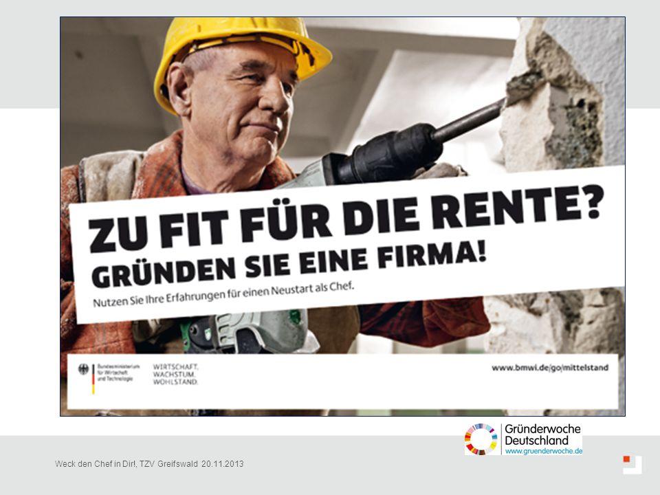 Weck den Chef in Dir!, TZV Greifswald 20.11.2013