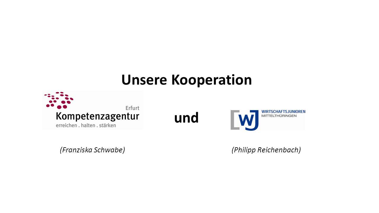 und Unsere Kooperation (Franziska Schwabe)(Philipp Reichenbach)