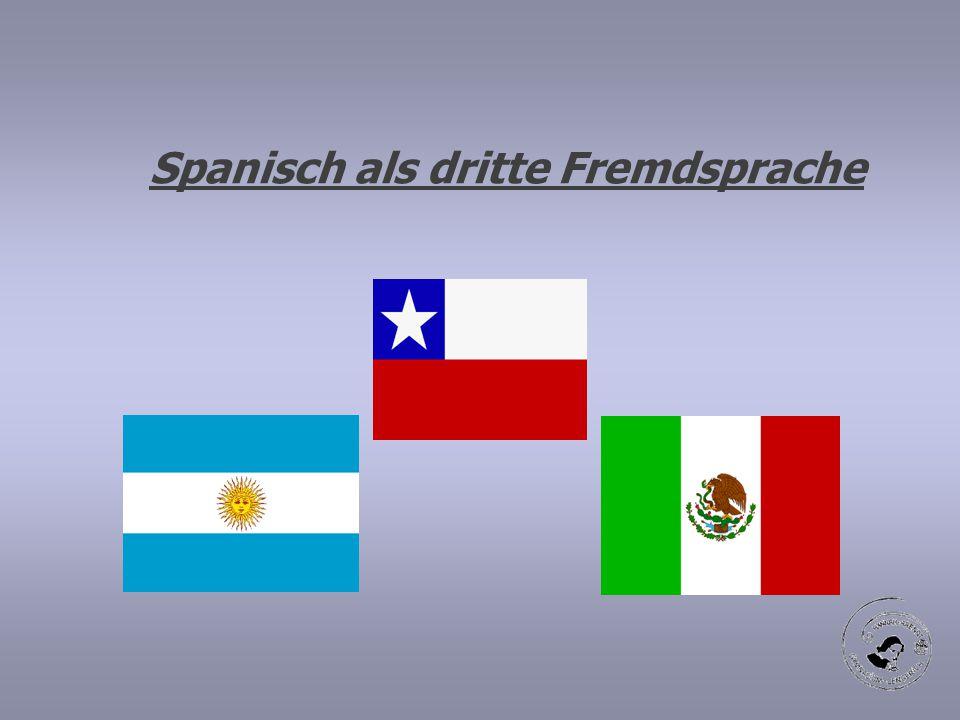 Spanisch als dritte Fremdsprache