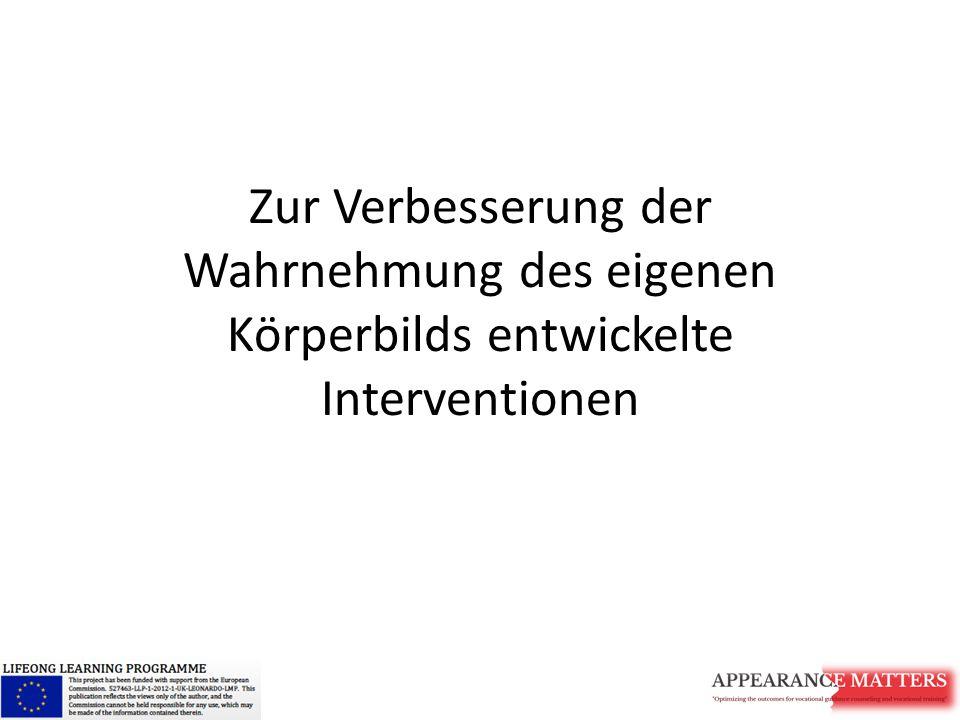 """Kognitive Dissonanz: Materialien Deutschsprachige Materialien: Intitative S-O-Ess gegen ungesunde Körperideale http://www.s-o-ess.at/http://www.s-o-ess.at/ Bodytalk PEP - im Gespräch mit andern und sich selber zu Themen wie Selbstwert, Umgang mit Gefühlen und Körperzufriedenheit http://pepinfo.ch/index.php?id=86 Buchtip zum Thema: """"Bei sich und in Kontakt , Verlag Hans Huber, 2010"""