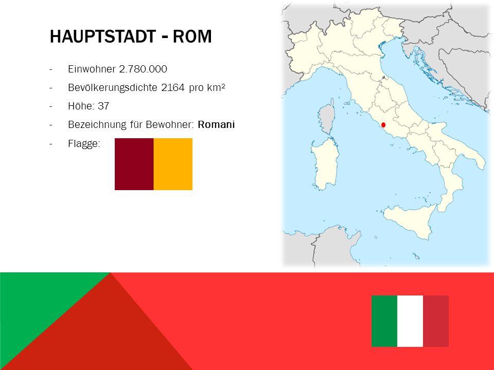 GRUNDLEGENDE GEOGRAFIE -Größtenteils eine Halbinsel im Mittelmeer mit Ausrichtung nach Südosten -Grenzt an: Frankreich, Schweiz, Österreich, Slowenien -Im Norden von Italien befindet sich ein großer Teil der Alpen -Der Apennin durchzieht das Land entlang der Längsachse -Vulkane: Vesuv, Äthan, Stromboli -Höchster Berg: Montblanc