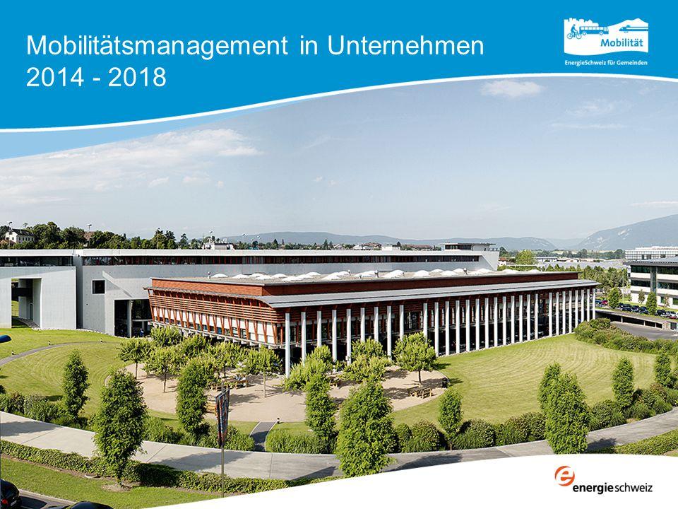 Mobilitätsmanagement in Unternehmen 2014 - 2018