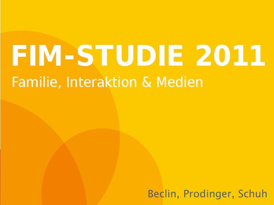  Aufbauend auf ◦ JIM-Studie (Jugend, Information, Multimedia) ◦ KIM-Studie (Kinder + Medien, Computer + Internet)  Entwickelt vom Medienpädagogischen Forschungsverband Südwest mit dem Südwestrundfunk