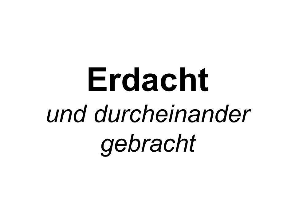 Illustrierte Mutmaßungen.