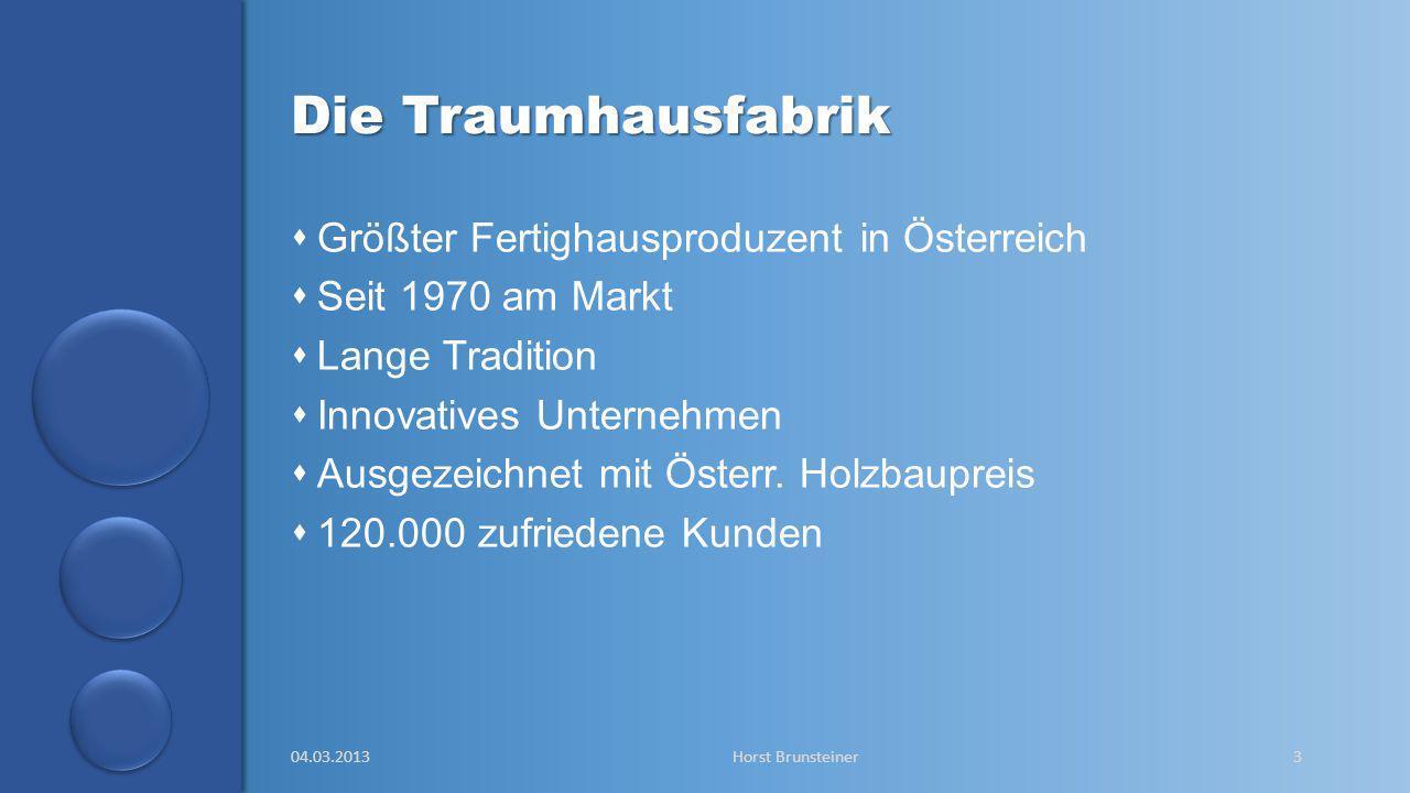 aa Die Traumhausfabrik  Größter Fertighausproduzent in Österreich  Seit 1970 am Markt  Lange Tradition  Innovatives Unternehmen  Ausgezeichnet mi