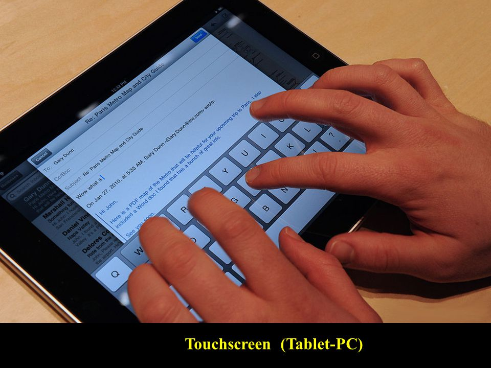 Touchscreen (Tablet-PC)