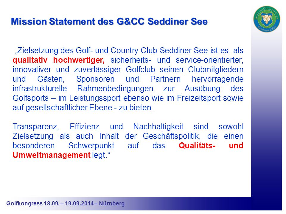 Golfkongress 18.09.