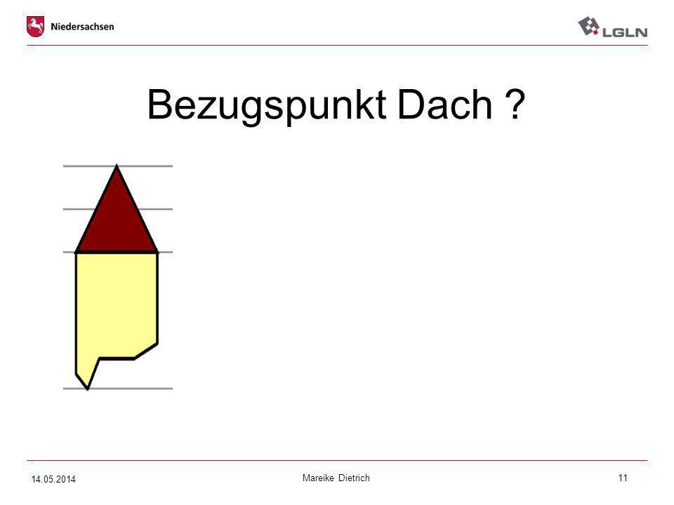 Mareike Dietrich11 Bezugspunkt Dach ? 14.05.2014