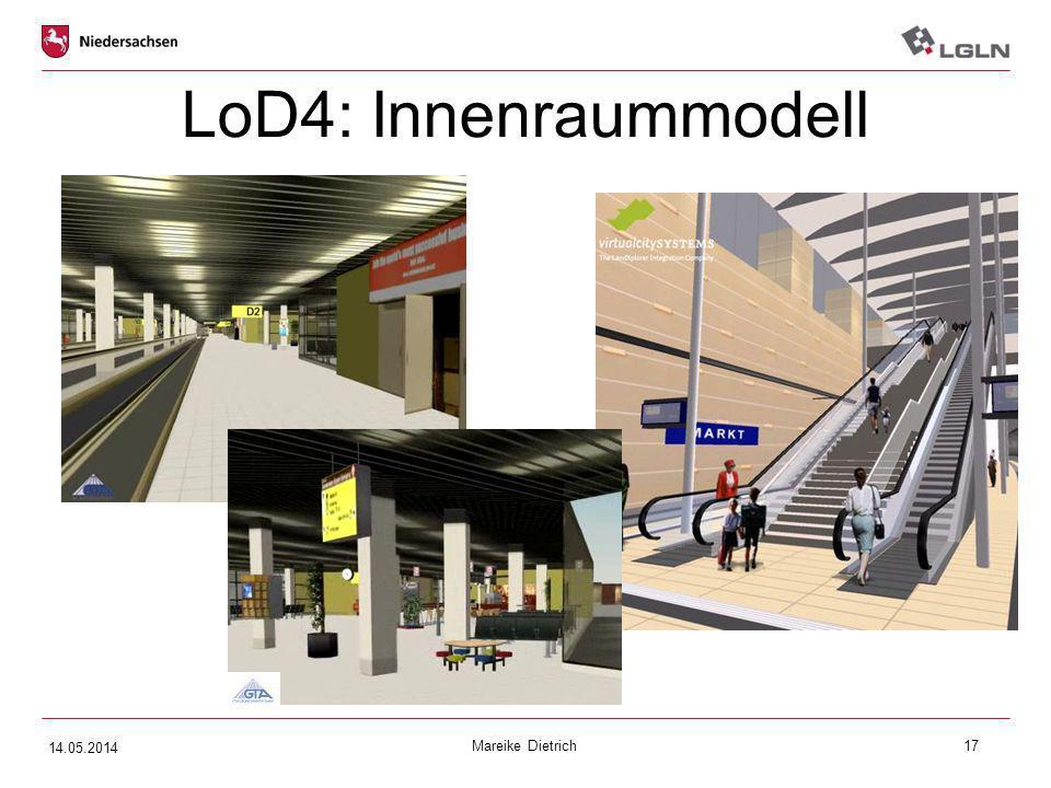 Mareike Dietrich17 LoD4: Innenraummodell  xxx 14.05.2014