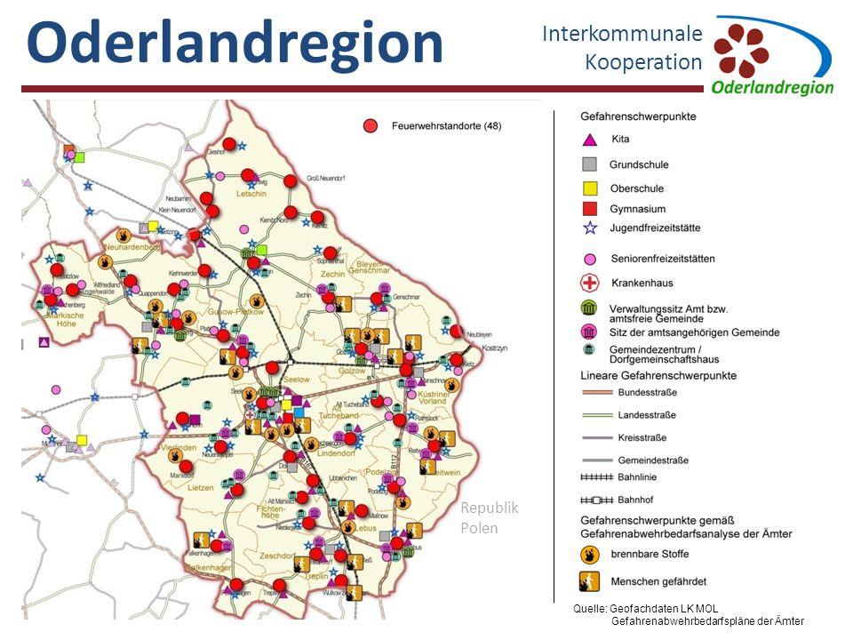 Oderlandregion Interkommunale Kooperation Golzow Neuhardenberg LebusSeelow - Land Seelow Letschin [25] [38] [15] [4] [1] Fahrzeugnachweis nach Angaben der örtlichen Feuerwehreinheiten