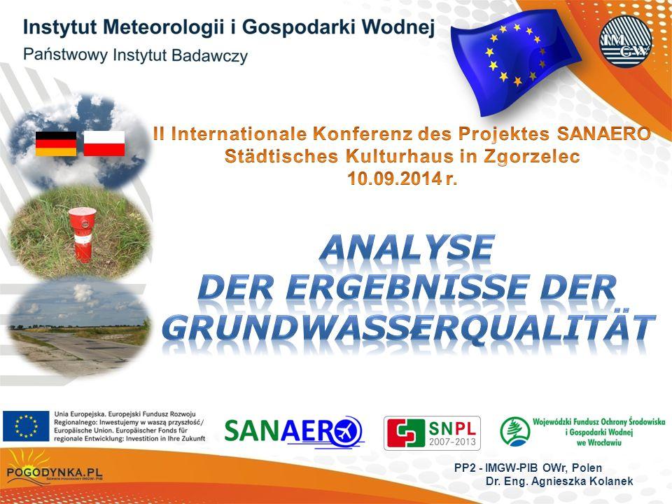 PP2 - IMGW-PIB OWr, Polen Dr. Eng. Agnieszka Kolanek