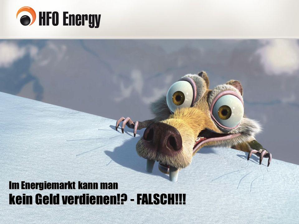 Im Energiemarkt kann man kein Geld verdienen!? - FALSCH!!!