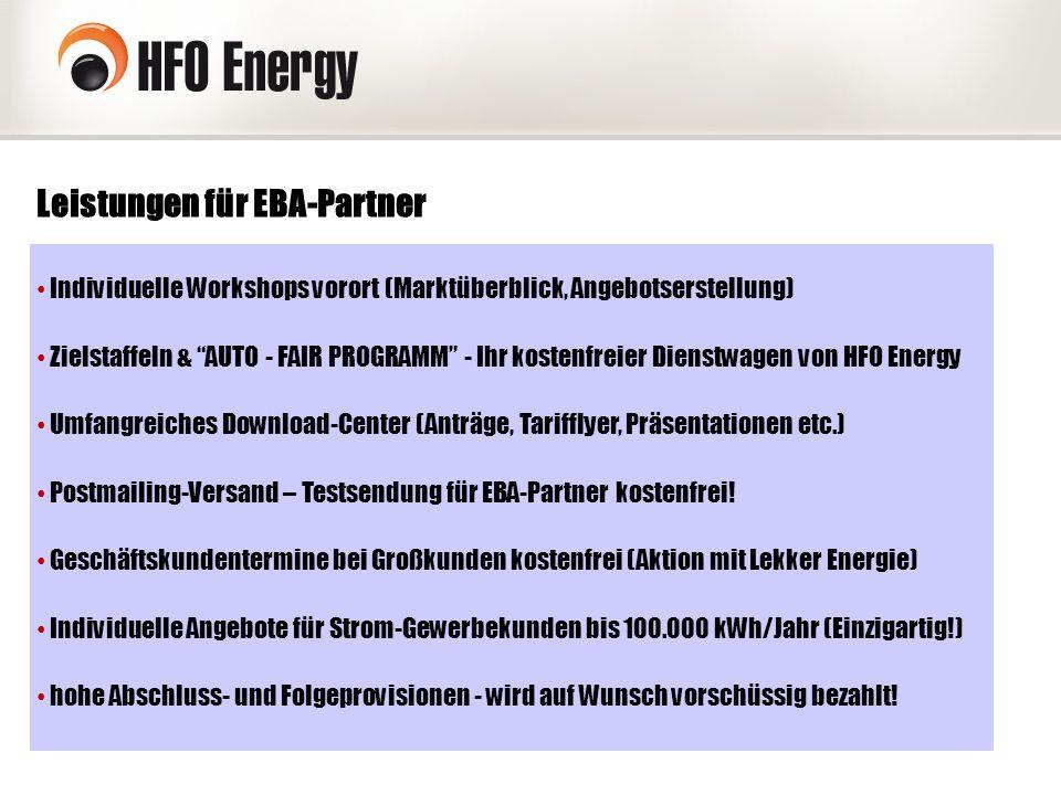 """Leistungen für EBA-Partner Individuelle Workshops vorort (Marktüberblick, Angebotserstellung) Zielstaffeln & """"AUTO - FAIR PROGRAMM"""" - Ihr kostenfreier"""