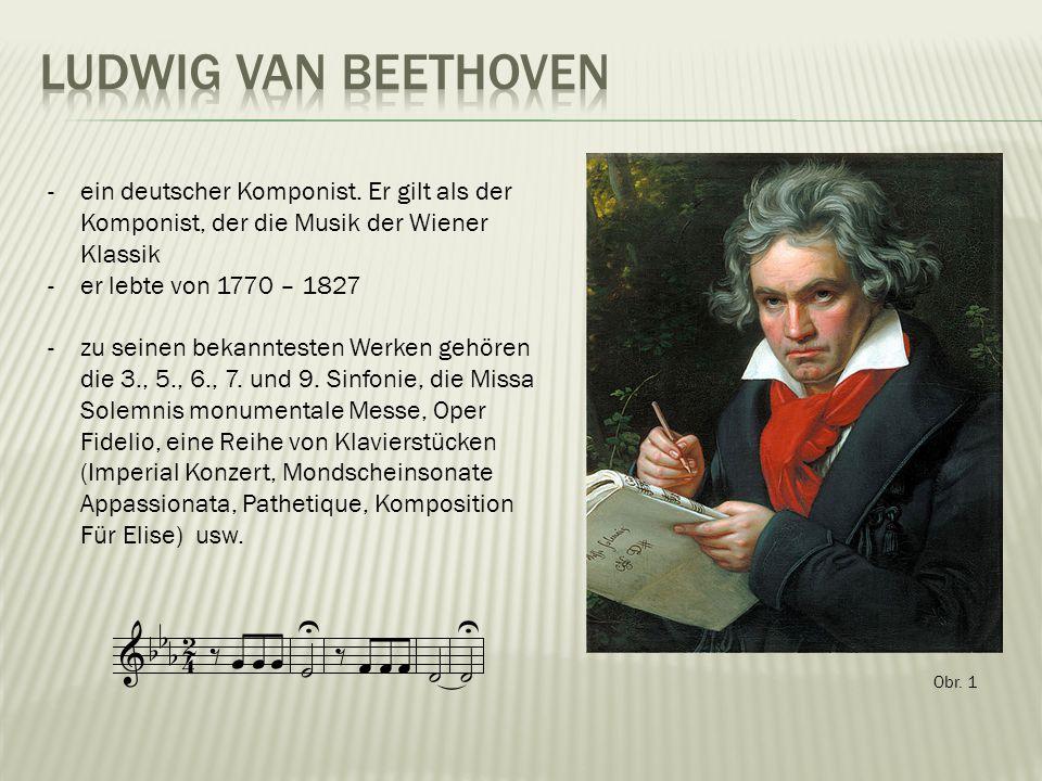 Obr. 1 -ein deutscher Komponist.