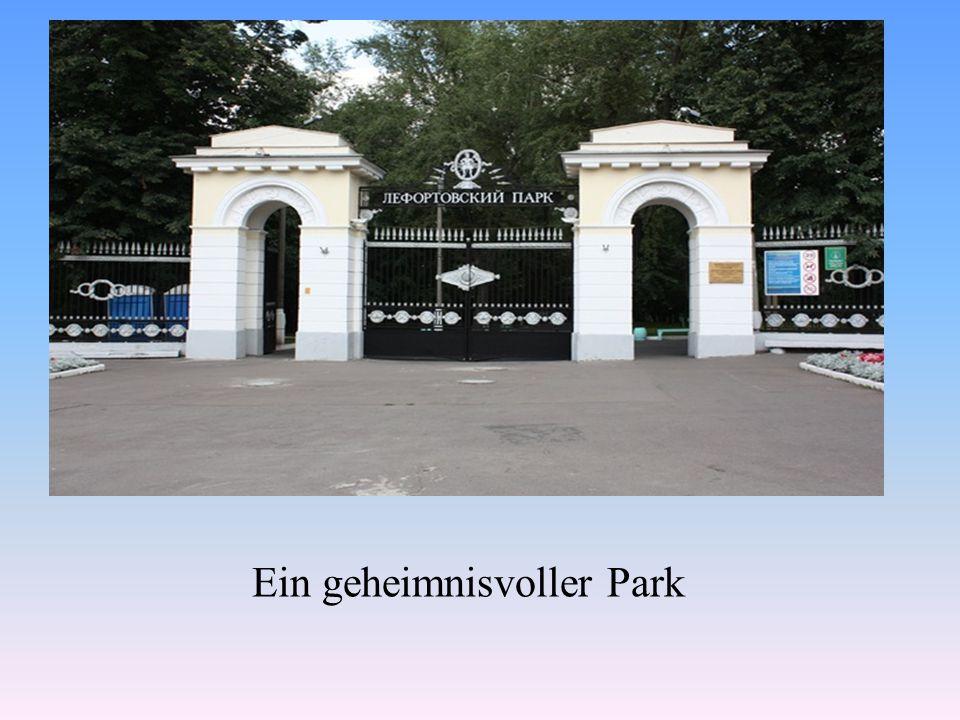 Ein geheimnisvoller Park
