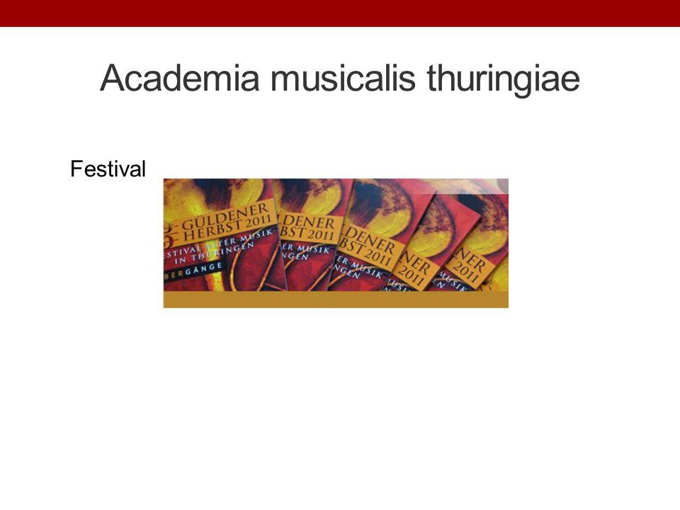 Academia musicalis thuringiae Festival