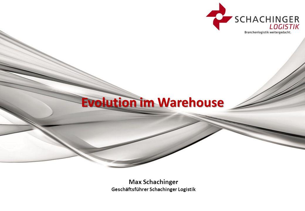 Max Schachinger Geschäftsführer Schachinger Logistik Evolution im Warehouse