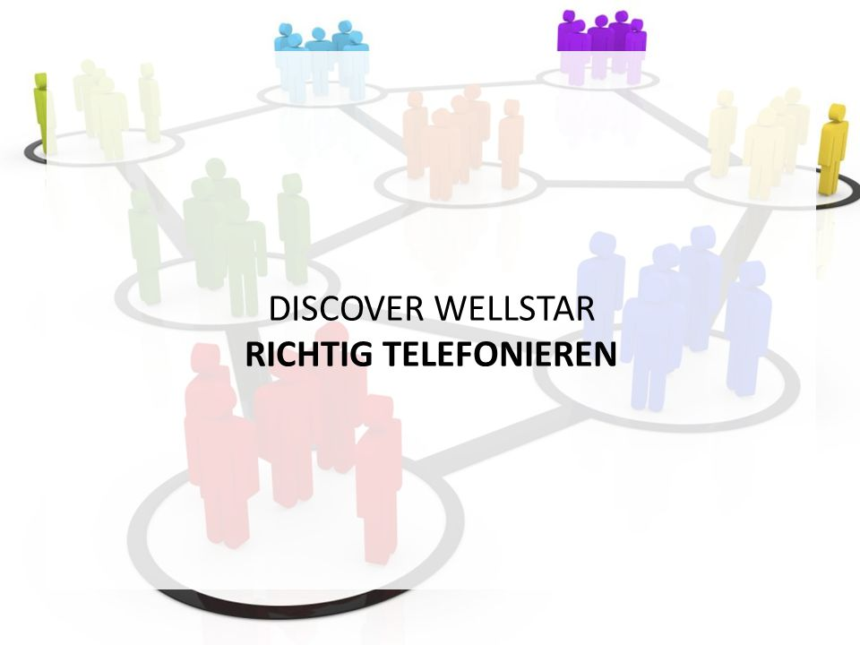 DISCOVER WELLSTAR RICHTIG TELEFONIEREN