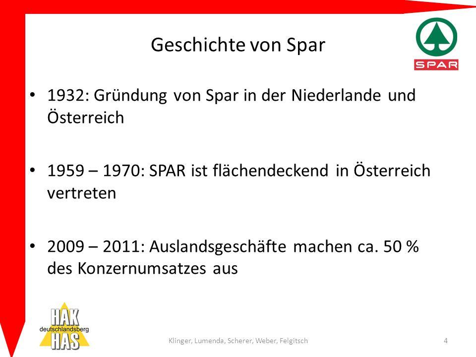 Geschichte von Spar 1932: Gründung von Spar in der Niederlande und Österreich 1959 – 1970: SPAR ist flächendeckend in Österreich vertreten 2009 – 2011