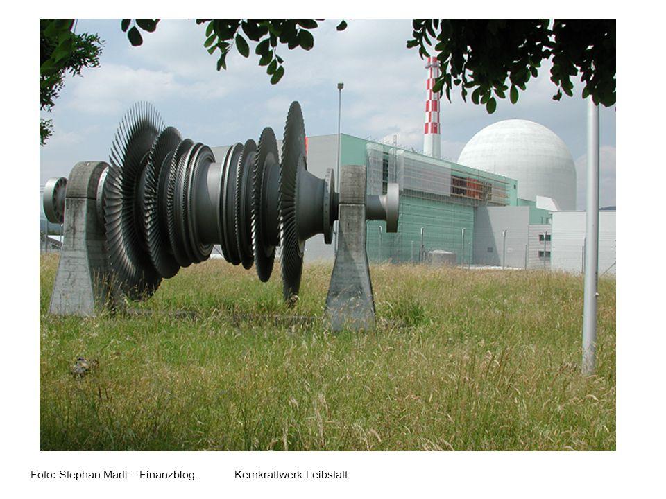 Foto: Stephan Marti – Finanzblog Kernkraftwerk LeibstattFinanzblog