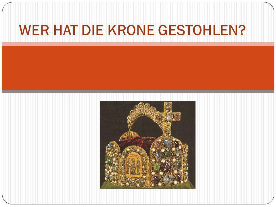 Das ist die Krone Karls des Großen.Karl der Große war ein Kaiser.