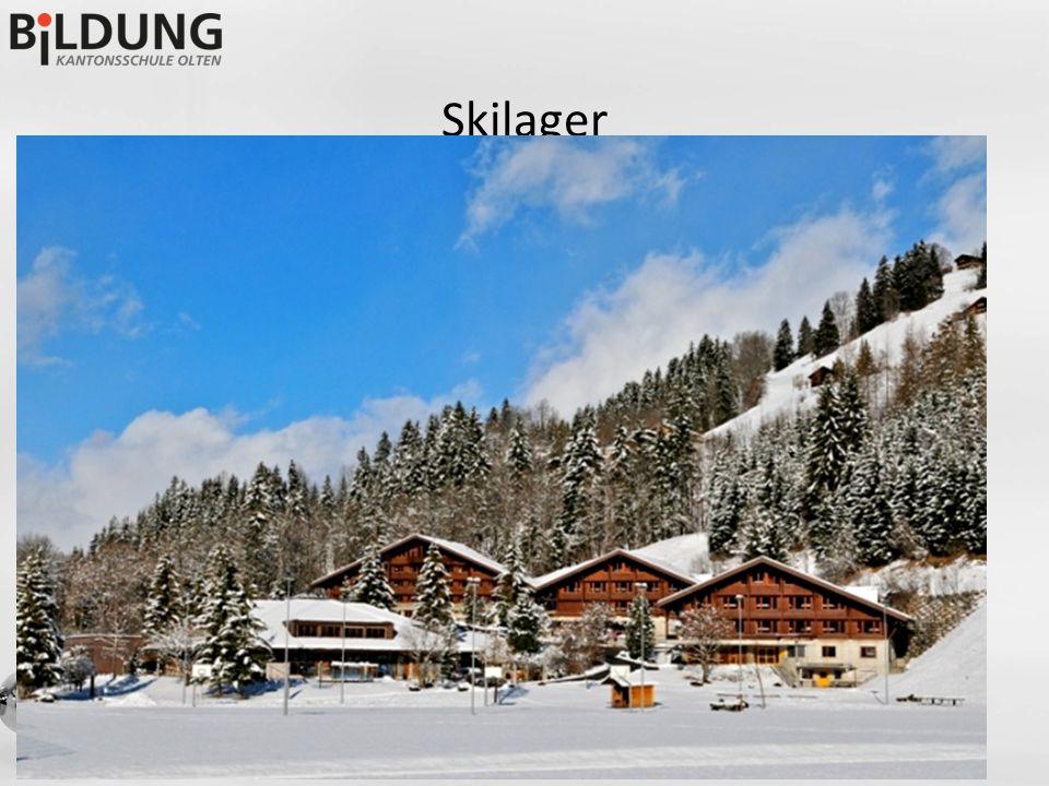 Skilager -Schneesportlager findet definitiv statt -SchülerInnen, die sich vor den Sommerferien angemeldet haben, gelten als definitiv angemeldet -In der ersten Sportferienwoche: 2.-7.2.2015 -im KUSPO Lenk -Weitere Informationen nach den Herbstferien an die entsprechenden SuS und Eltern