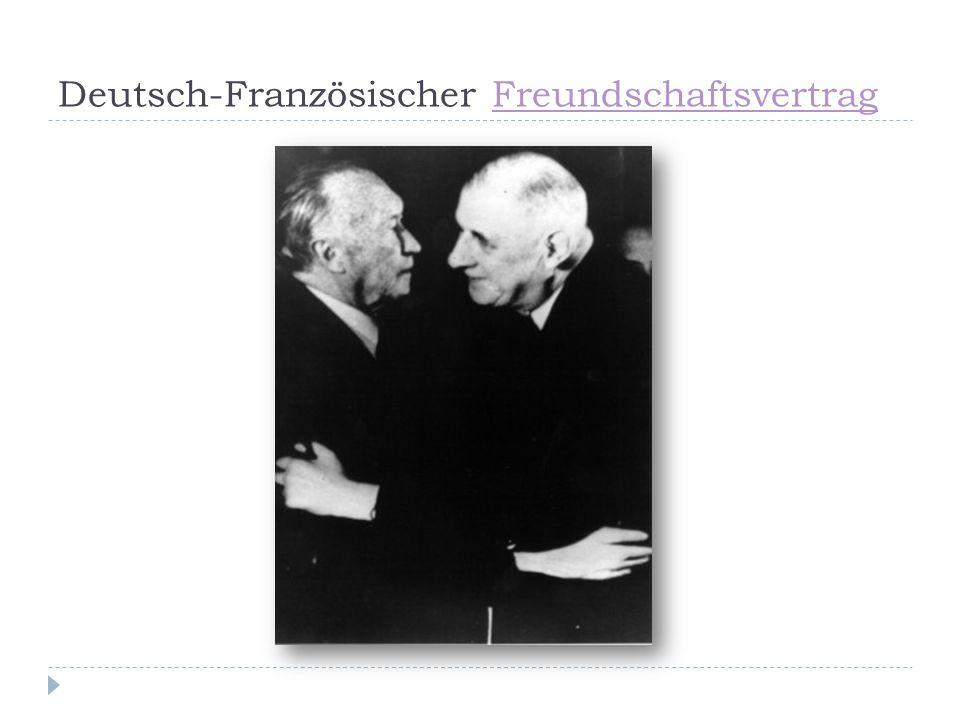 Deutsch-Französischer FreundschaftsvertragFreundschaftsvertrag