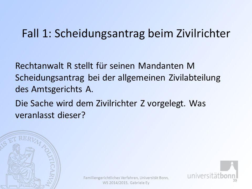 Fortsetzung Fall 2: Frage: Wie wird das OLG Braunschweig entscheiden.