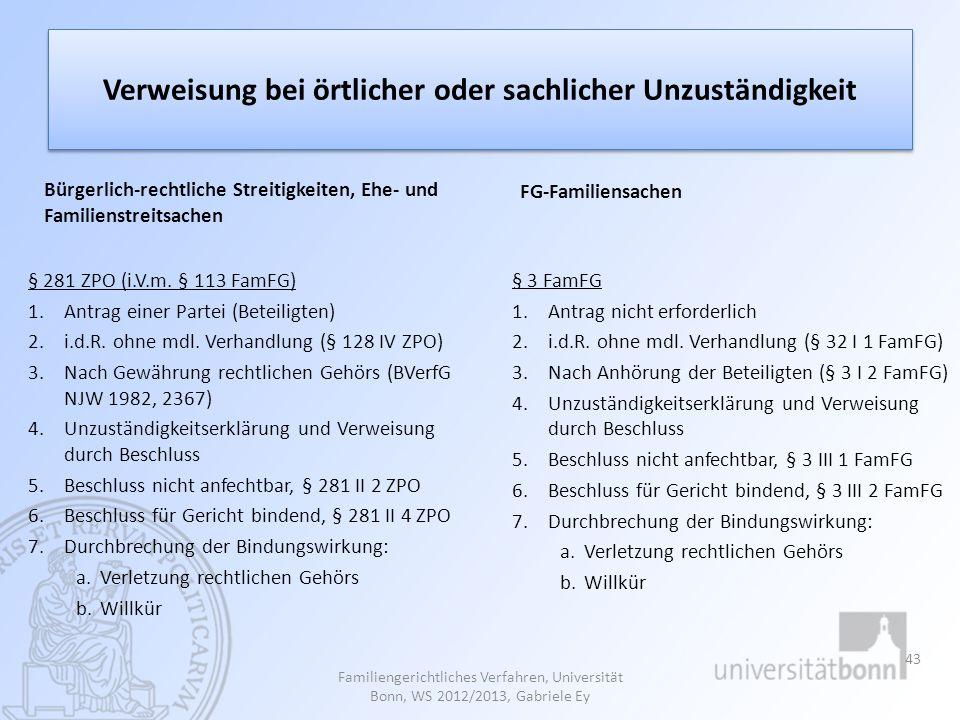 Durchbrechung der gesetzlichen Bindungswirkung eines Verweisungsbeschlusses BGH, Beschluss vom 9.