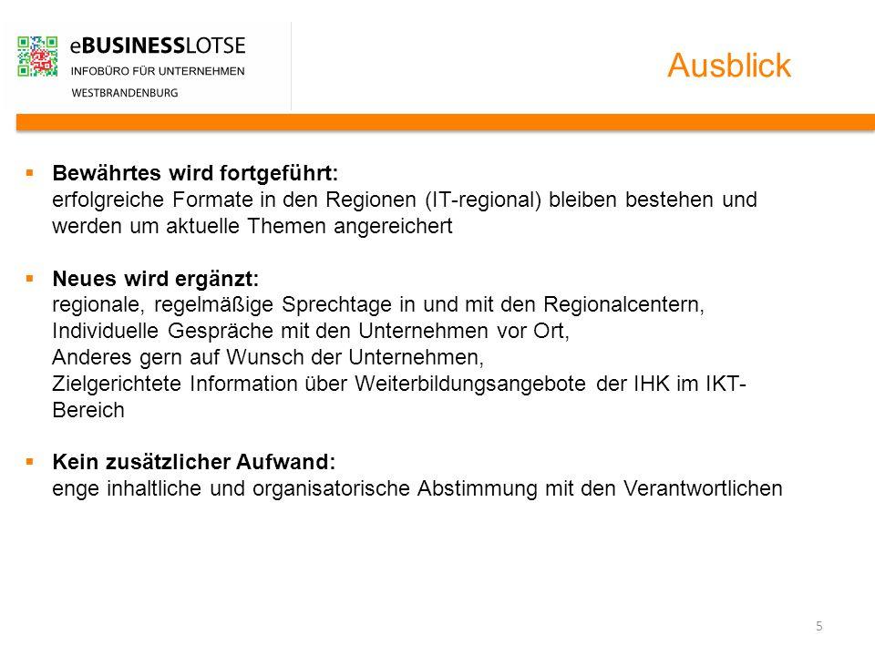 6 Kontakt Fachhochschule Brandenburg eBusiness-Lotse Westbrandenburg Dennis Bohne T +49 3381 355 – 235 M +49 173 3555885 E dennis.bohne@fh-brandenburg.de