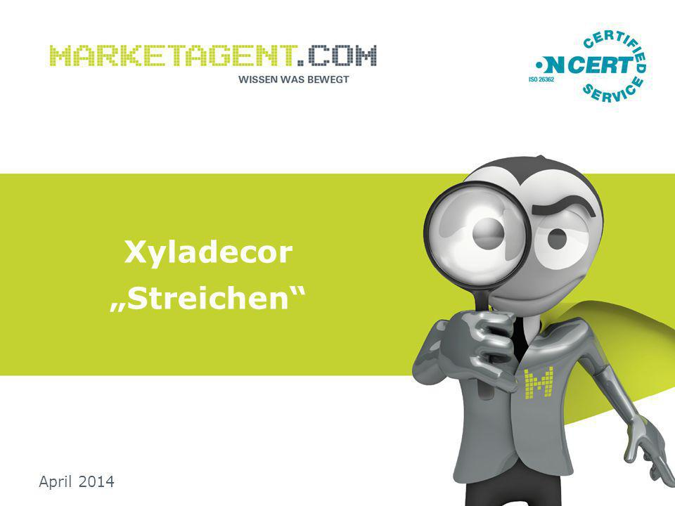 "Xyladecor ""Streichen April 2014"