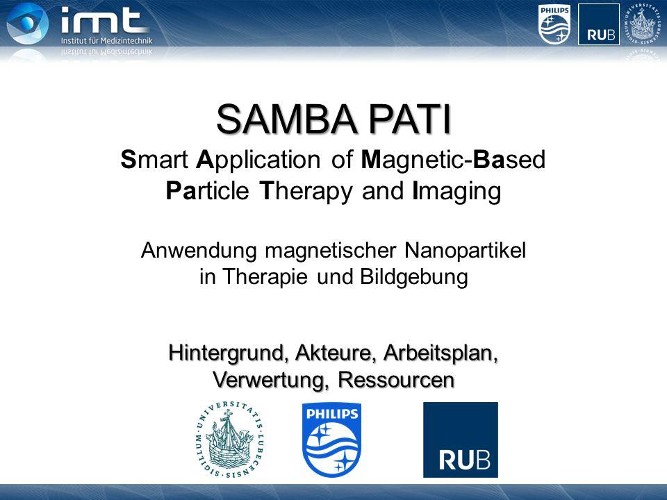 SAMBA PATI SAMBA PATI Smart Application of Magnetic-Based Particle Therapy and Imaging Anwendung magnetischer Nanopartikel in Therapie und Bildgebung
