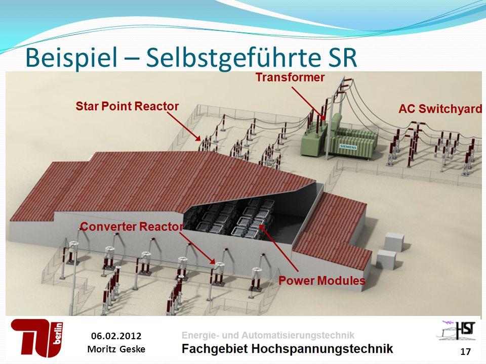 Beispiel – Selbstgeführte SR 06.02.2012 Moritz Geske 17