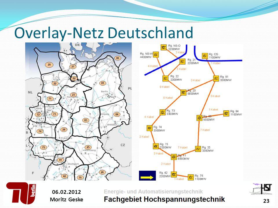 06.02.2012 Moritz Geske 23 Overlay-Netz Deutschland