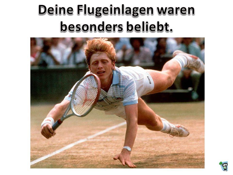 Boris, Du standest auf dem Court, und ganz Deutschland saß vor dem Fernseher. 1985 gewannst Du als 17-Jähriger das Turnier von Wimbledon. Noch Heute v