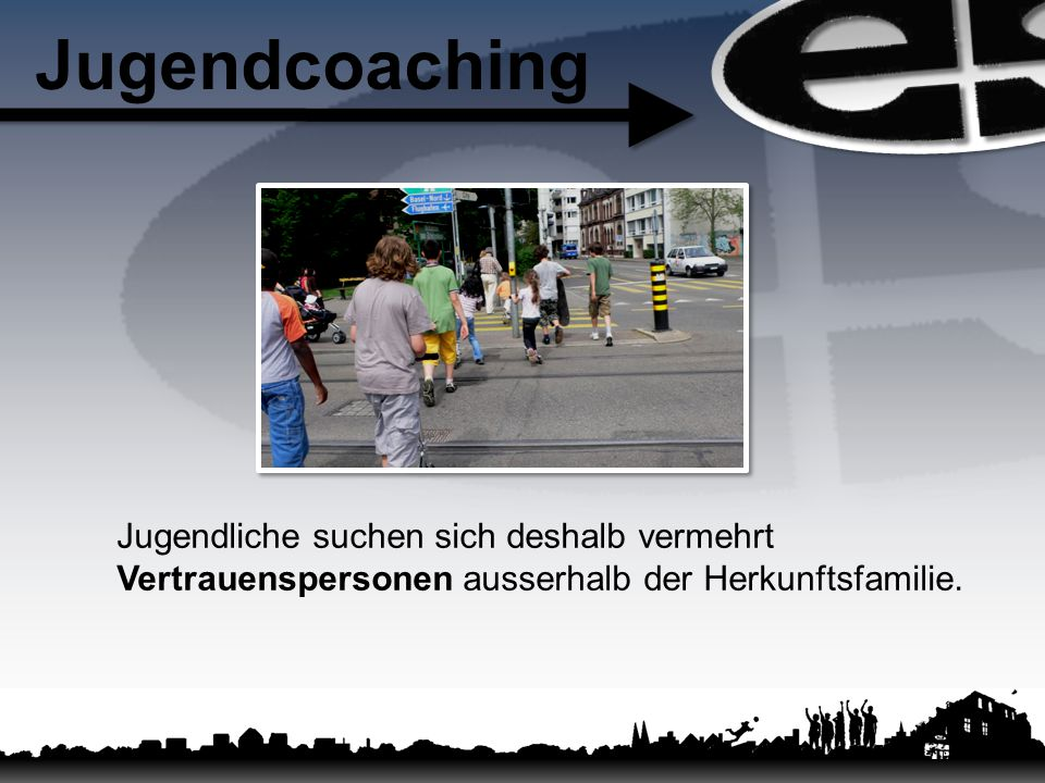 Jugendcoaching Jugendliche suchen sich deshalb vermehrt Vertrauenspersonen ausserhalb der Herkunftsfamilie.