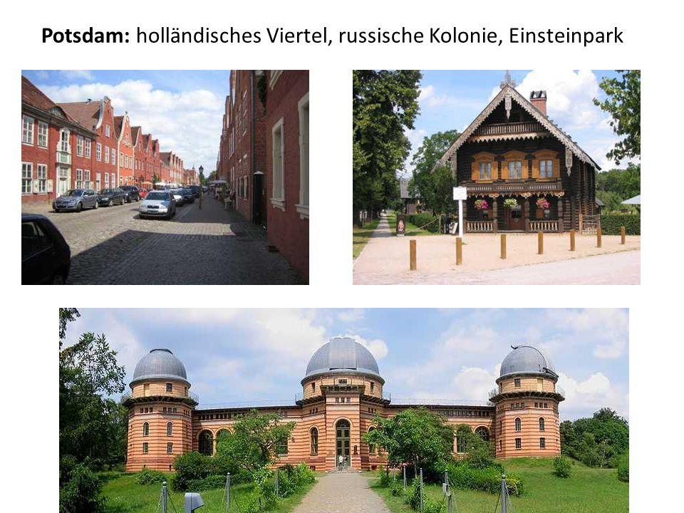 Potsdam: holländisches Viertel, russische Kolonie, Einsteinpark