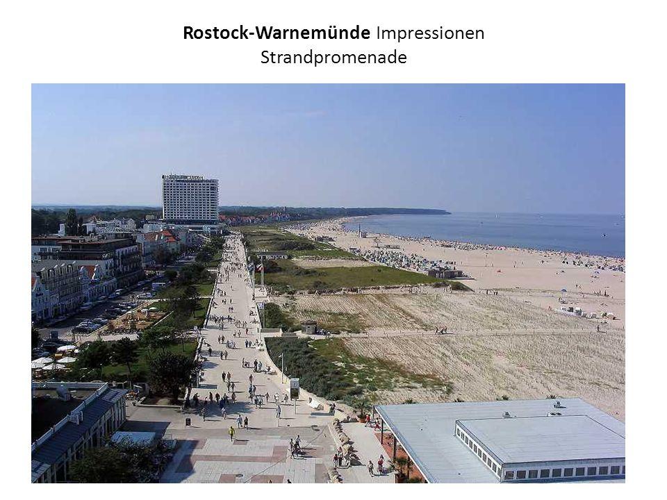 Rostock-Warnemünde Impressionen Strandpromenade