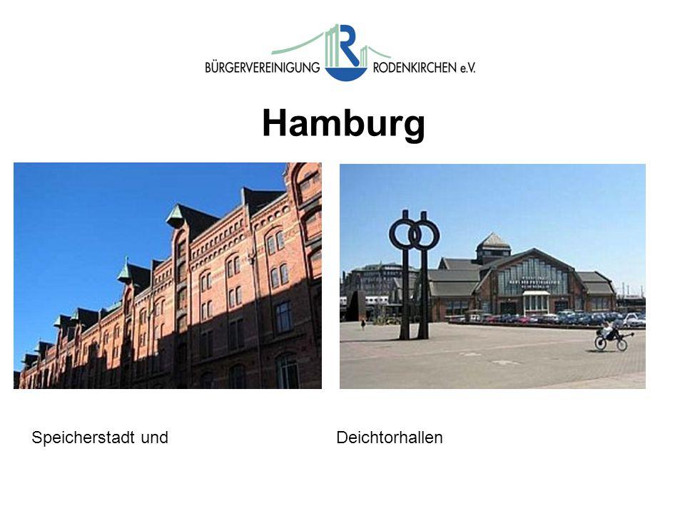 Hamburg Speicherstadt und Deichtorhallen