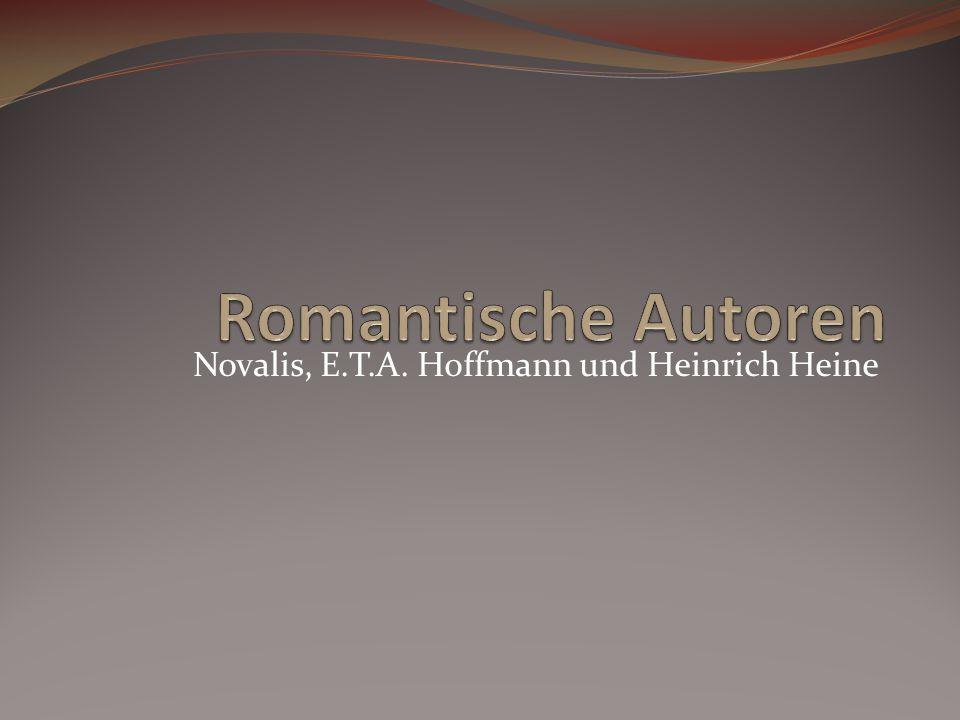 Quellen Novalis http://www.zum.de/Faecher/D/BW/gym/ITG/novalis.
