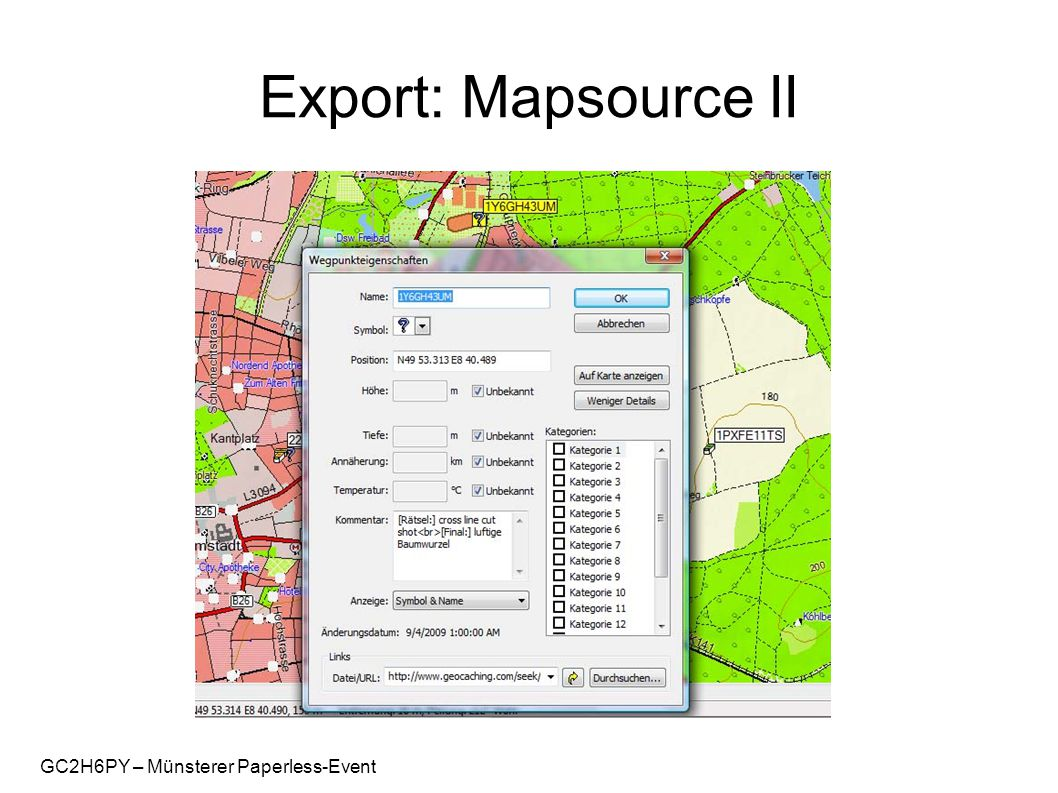 GC2H6PY – Münsterer Paperless-Event Export: Mapsource II