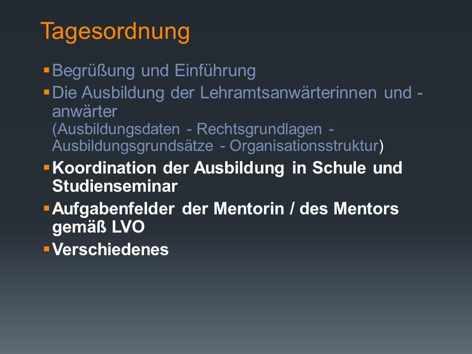 Staatliches Studienseminar für das Lehramt an Förderschulen PD Dr. Margit Theis-Scholz Dienstbesprechung für Mentorinnen und Mentoren am 22.09.2014