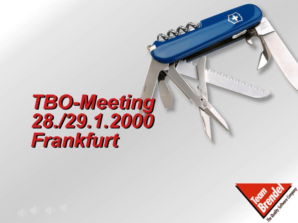TBO-Meeting 28./29.1.2000 Frankfurt