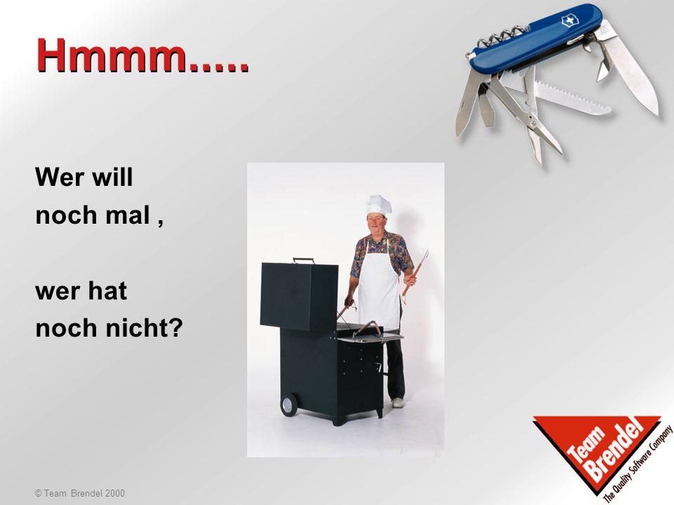 © Team Brendel 2000 LOB ? Was bringt's? Heinz Hüll LOB-Manager Microsoft Deutschland